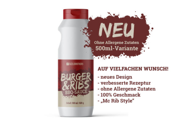 Mc Rib Style Burger Sauce der SizzleBrothers