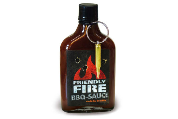 Scovilla's Friendly Fire Hot BBQ Sauce
