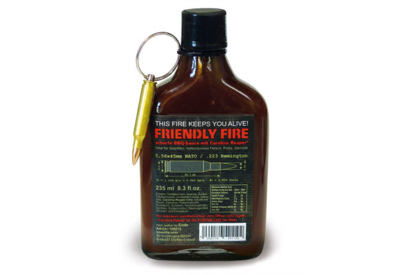 Hot BBQ-Sauce Friendly Fire