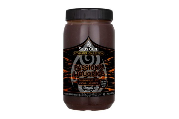 Passion Liquorice - Saus Guru Pitmaster collection